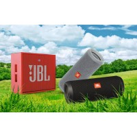 Беспроводные колонки JBL. Обзор моделей JBL Charge2+ и JBL Charge3.