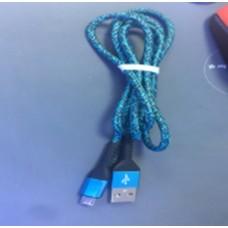 Кабель colored weaving long tail v8 (20)