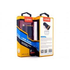 Автомобильное зарядное устройство LDNIO DL-C22i + кабель Lightning